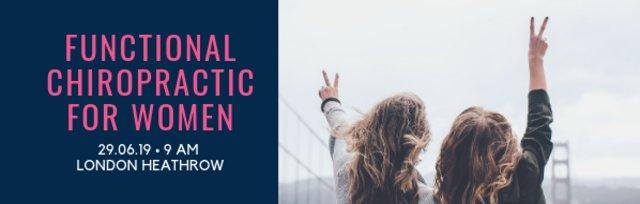 FUNCTIONAL CHIROPRACTIC FOR WOMEN