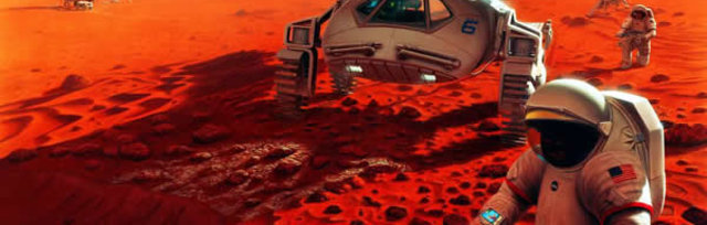 First Humans On Mars