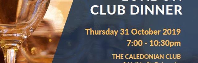 2019 EAC London Club Dinner