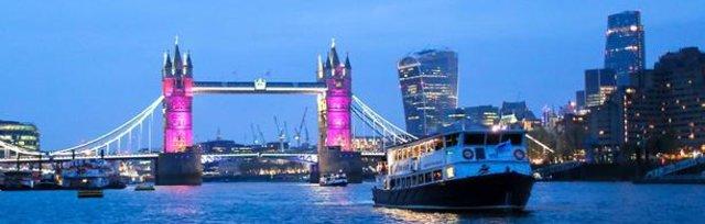 Christmas 2 Tone Thames cruise