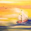 Paint & Sip! Sail Away at 7pm $25 Upland image