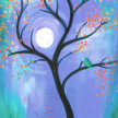 Paint & Sip! Bird in Tree at 7pm $35 image