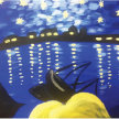 Paint & Sip! Starry Night ver the Rhone at 3pm $29 Upland image