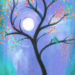 Paint & Sip!Bird in a Tree at 3pm $23 Upland image