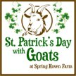 Saint Patrick's Day with Goats image