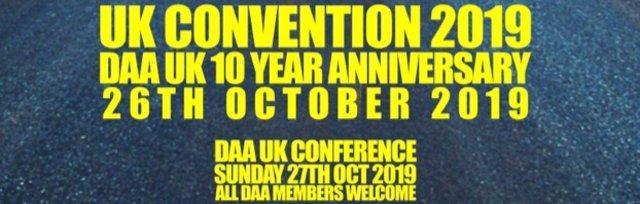 DAA UK Convention