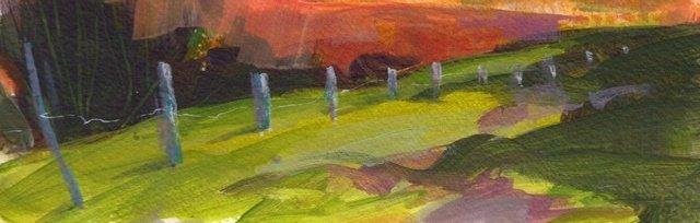Loose and Lively Landscapes  in Acrylics with Karen Carter [Ref#456]
