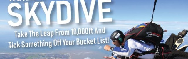 Tandem Skydive - SOLD OUT