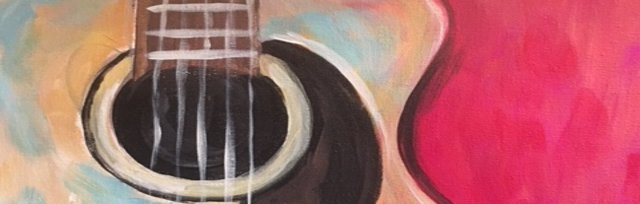 Paint & Sip! Acoustic Guitar at 7pm $35 Upland