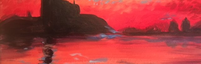 Paint & Sip! Sunset in Venice at 2pm $29 UPLAND