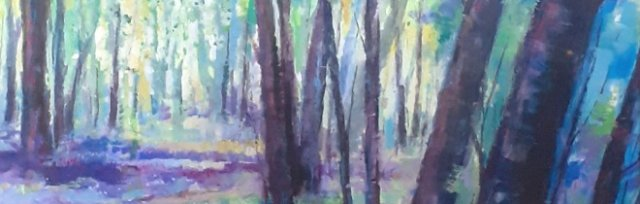 Bluebell Wood Acrylic workshop with Karen Carter [Ref#5211]
