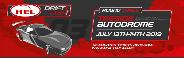 HEL DriftCup round 3 - July 13th and 14th - 2019