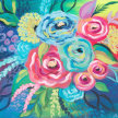 Paint & Sip!Floral Blossom at 7pm $39 image