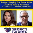 Grassroots for Europe webinar with Gina Miller and Will Hutton image
