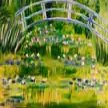 Paint & sip! Waterlillies under the bridge at 3pm $29 image