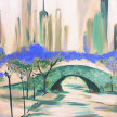 Paint & Sip!City Bridge at 7pm $29 Upland image