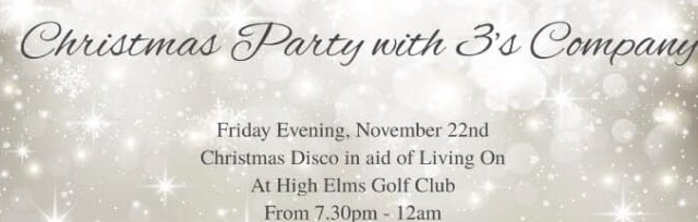 Christmas Party in aid of Living On