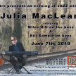 Julia MacLean - Jazz Dinner Concert image