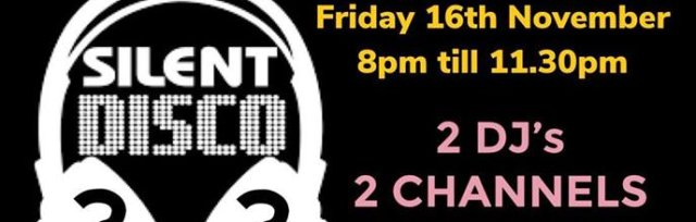 SILENT DISCO PARTY - 4 DECADES TO CHOOSE FROM