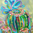 Paint & Sip! Cactus at 7pm $35 Upland image