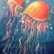 Paint & sip! Jely Fish at 3pm $29 image