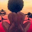 Paint & Sip! Safari Queen at 7pm $35 image