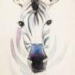 Brunch & Paint! Zebra at 2pm $29 image