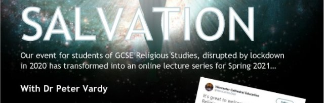 Salvation: GCSE Religious Studies Lecture Series with Dr Peter Vardy