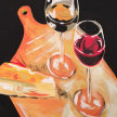 Paint & sip! ine and Cheese at 3pm $29 image