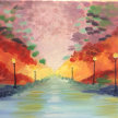Paint & Sip! River & Water at 7pm  $35 image