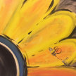 Paint & Sip!Bumble Flower at 3pm $23 Upland image