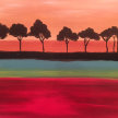 Paint & Sip!African Trees at 7pm $25 Upland image