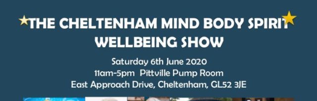 The Cheltenham Mind Body Spirit Wellbeing Show: Public Entrance, William Bloom, Susie Mackie, Emma Wilkinson