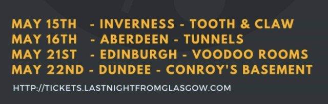 LNFG On Tour - Mt. Doubt, Cloth and Lemon Drink (inverness)