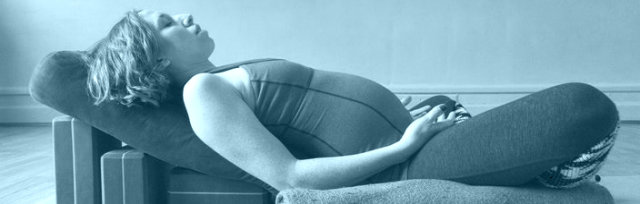 'Slow Down' Pregnancy Yoga Relax & Replenish Class