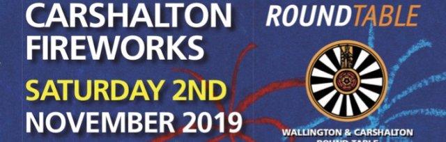 Round Table Carshalton Fireworks 2019