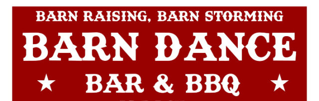Barn Raising, Barn Storming Barn Dance is back!