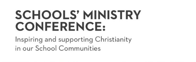 Schools Ministry Conference