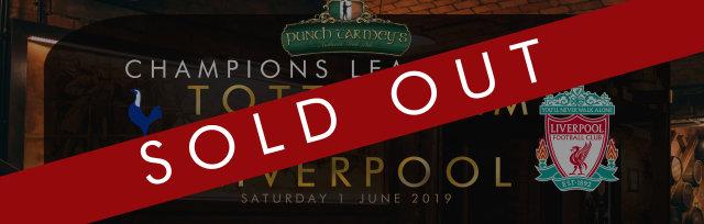 Champions League Final! Saturday 1st June 2019
