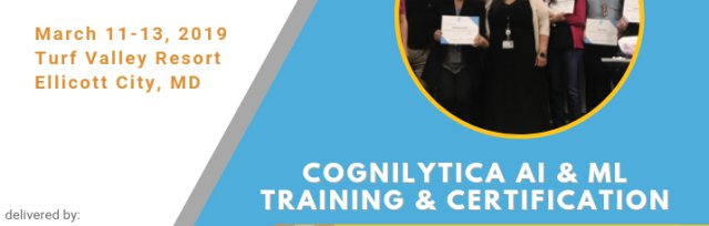 Cognilytica AI & ML Training and Certification