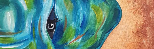 """Let's Paint """"Tribal Elephant"""" - online"""