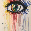 """Paint & Sip """"The Eye"""" at 11am $22 image"""