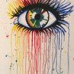 Paint & Sip! Eye at 3pm $25 Upland image