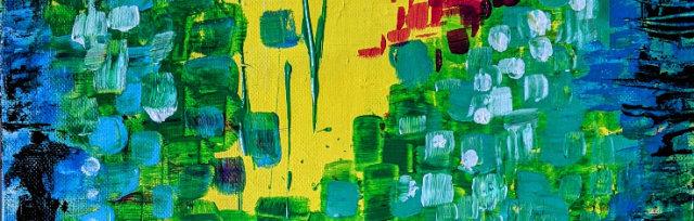 """Let's Paint """"Monet's Aquarium"""" - Online"""
