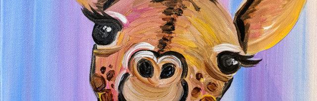 "Let's Paint ""Graceful Giraffe"" - online"