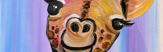 "Let's Paint ""Graceful Giraffe"""