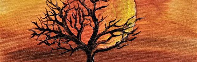 """Let's Paint """"Tree and Sun"""""""