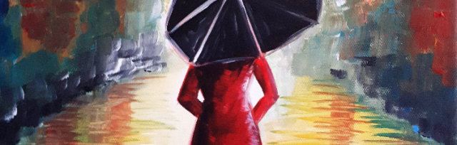 """Let's Paint """"Lady in Red"""""""