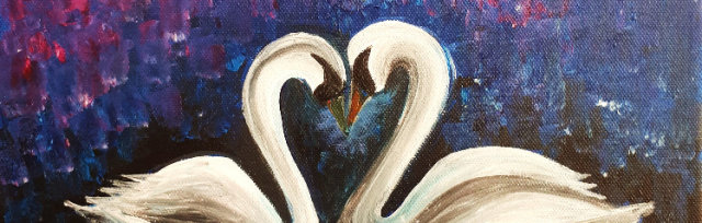 "Let's Paint ""Just Swan Love"""