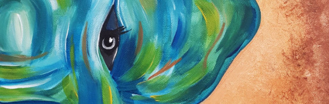 "Let's Paint ""Tribal Elephant"""